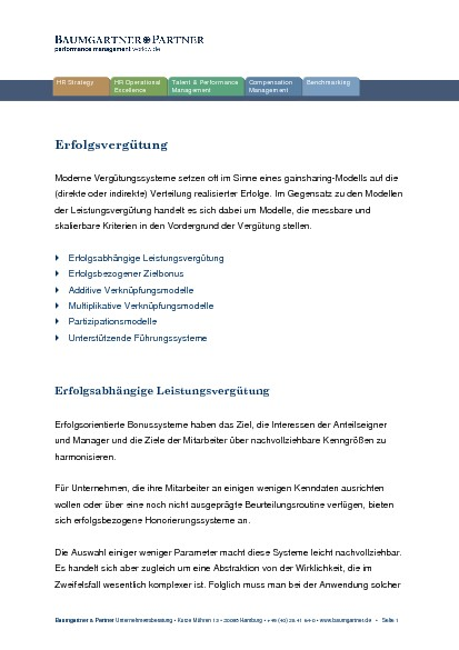Baumgartner & Partner Management Consultants GmbH
